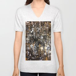 Black Gold Unisex V-Neck