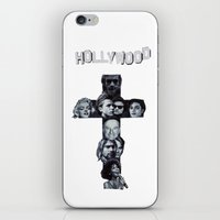hollywood iPhone & iPod Skins featuring Hollywood  by Mr Feris