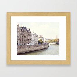 Paris Islands in the sun Framed Art Print