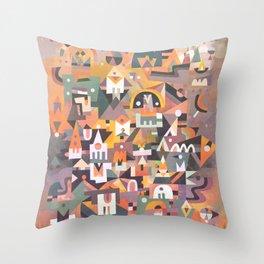 Schema 13 Throw Pillow