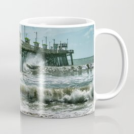 Surge Under The Pier Coffee Mug