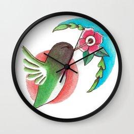 Sol y Luna Wall Clock