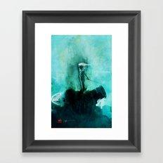 Silent Leaves Six Framed Art Print