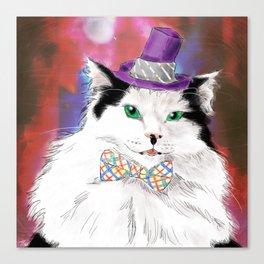 The Oreo Cat Canvas Print