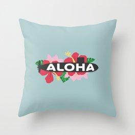 Aloha Submarine Throw Pillow