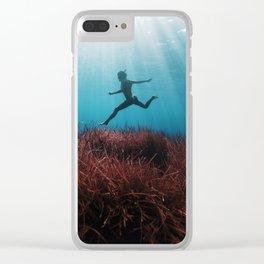 160710-3376b Clear iPhone Case