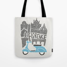 Florence Cityscape Tote Bag