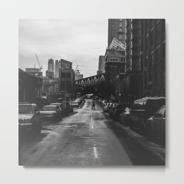 Brooklyn Loner Metal Print