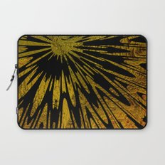 Native Tapestry in Gold Laptop Sleeve