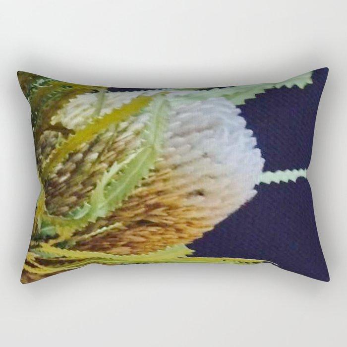Native Banksia Rectangular Pillow