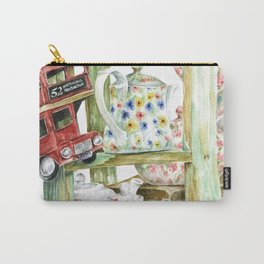 Alice's Teapots Carry-All Pouch