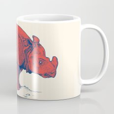 Red Rhino Coffee Mug