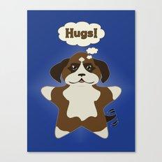 Star Dog Canvas Print