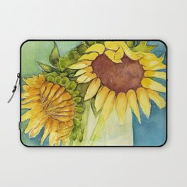 Sleepytime Sunflowers Laptop Sleeve