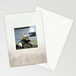 Solar Powered Mole-Whacker Stationery Cards