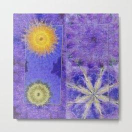Mopey Feeling Flower  ID:16165-060813-24921 Metal Print