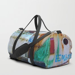 Destroyed Duffle Bag