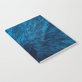 Bold Burst in Blue Notebook