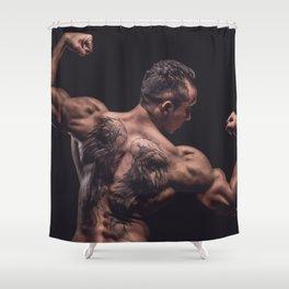 feelin fit Shower Curtain