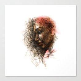 Sketch1 Canvas Print