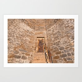 If These Prison Walls Could Talk Art Print