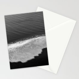 The movement of the sea | Lanzarote island | Fine art travel black & white photography | Stationery Cards