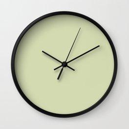White Jade Wall Clock