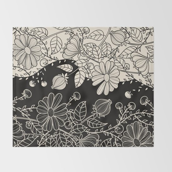 FLOWERS EBONY AND IVORY by magic-dreams