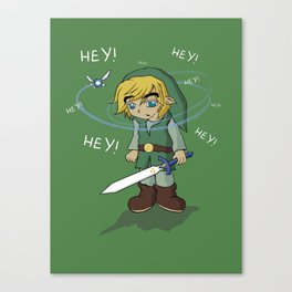 The Legend of HEY! Canvas Print
