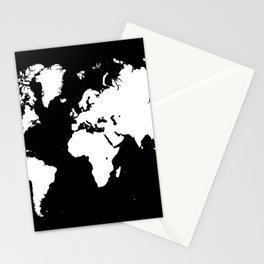 Design 69 world map Stationery Cards