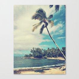 Vintage Tropics Canvas Print