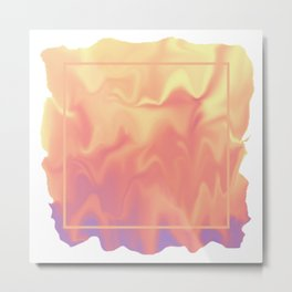 melting colors Metal Print