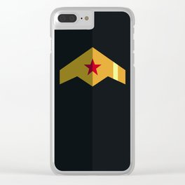 Woman, Hero Wonder, DC Clear iPhone Case