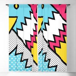 ZigZag 80s Memphis Pattern Blackout Curtain