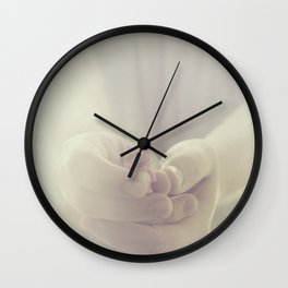 Tiny cat Wall Clock