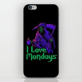 I Love Mondays iPhone Skin