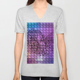 NV: Nakai: patterned Unisex V-Neck