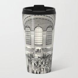 Grand Central Terminal monochrome Travel Mug