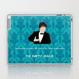 The Empty Hearse - Sherlock Holmes Laptop & iPad Skin