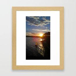 Indianola, WA Framed Art Print