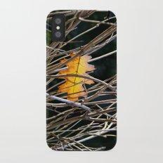 Golden Leaf Slim Case iPhone X