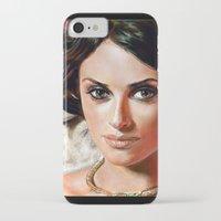 angel iPhone & iPod Cases featuring Angel by Veronica  Kokoreva