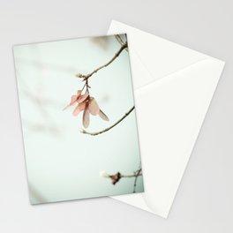 Spring Botanical Maple Tree Seed Minimal Stationery Cards
