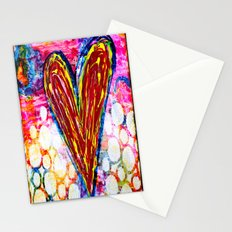 Bubbling with Love Stationery Cards