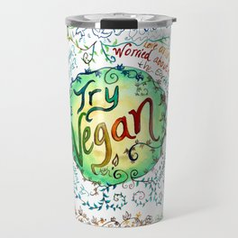 Try Vegan Travel Mug