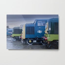 Deltic Deliverance Metal Print
