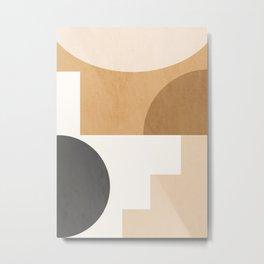 Geometric Abstract 106 Metal Print