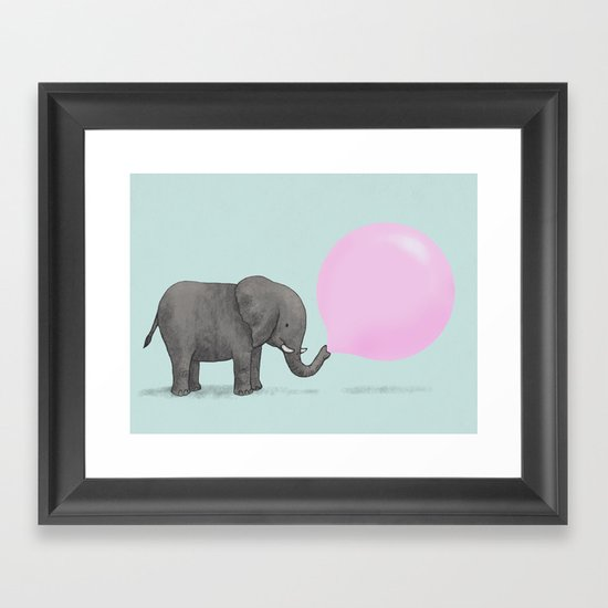 Jumbo Bubble Framed Art Print