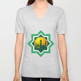 Symbol of Muslim Unisex V-Neck