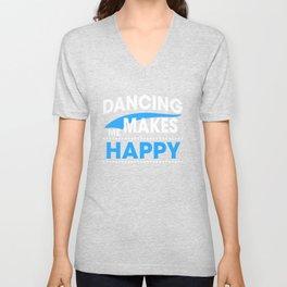 DANCING Unisex V-Neck